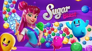Sugar Blast! Launch Trailer – Play a new extra-sweet tap-to-match puzzle game!