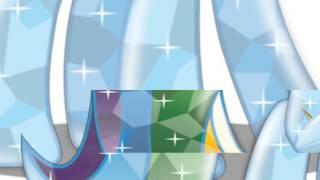 Превращение Rainbow Dash в кристальную пони