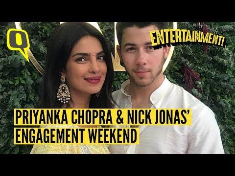 Priyanka Chopra & Nick Jonas' Engagement Weekend in Mumbai