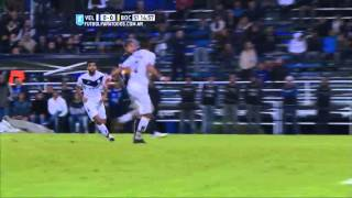 Aguerre cerró el arco. Vélez 2 Boca 0.Fecha 14.Torneo Primera División 2015.FPT