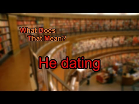 what does dating mean to you