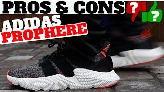 PROS & CONS - ADIDAS PROPHERE (REVIEW + ON FEET)
