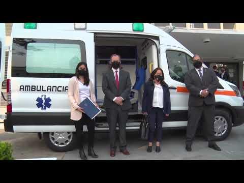 El Poder Judicial entregó dos ambulancias al sistema de salud provincial