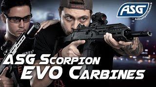 SNEAK PEEK: ASG Scorpion EVO Carbines - RedWolf Airsoft RWTV
