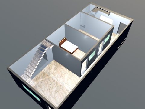 cinema 4d tutorial : house builder tool - YouTube