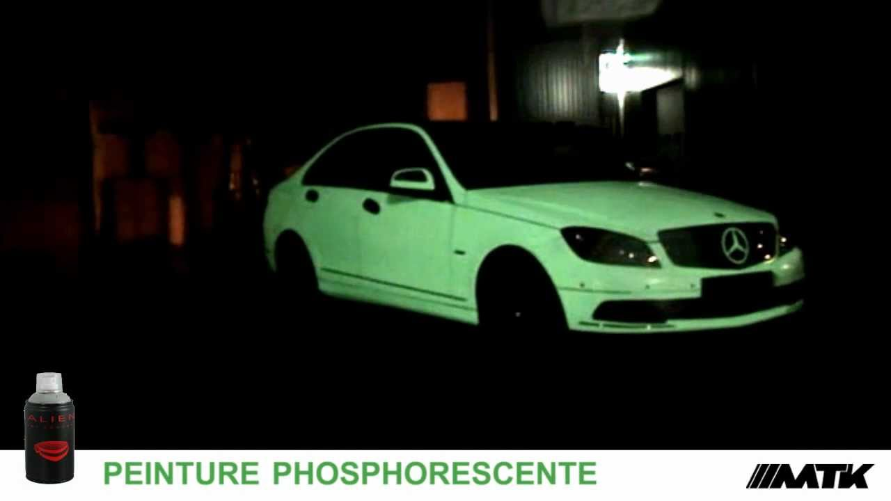 Car Paint Colors >> Peinture Phosphorescente pour voiture alien poltergeist glow spray paint fluo -MTK- - YouTube