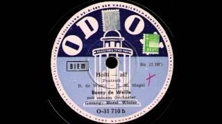 Holli-ai! / Benny de Weille & Orchester, Gesang: Horst Winter