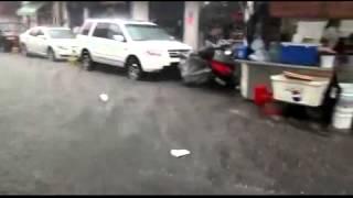 Inunda lluvia del viernes a San Juan de Dios