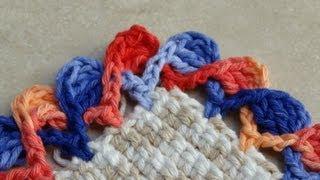 Passo a passo Barrado – Bico em crochê – Life Baby Sapatinhos
