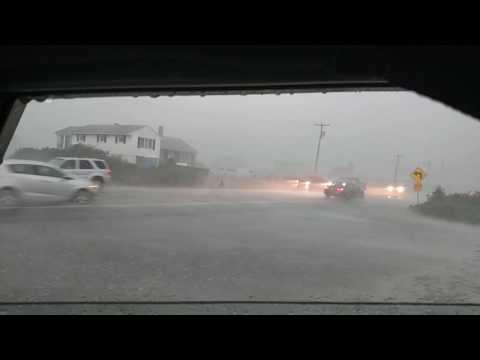 Rain event in Rye New Hampshire 7/23/16 possible microburst?