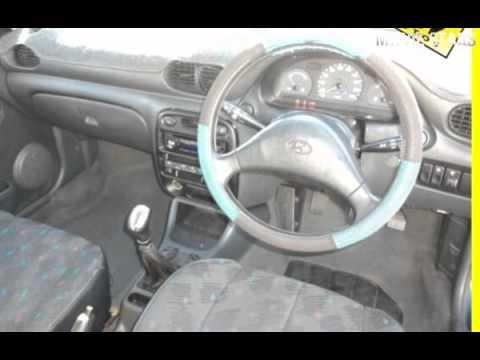 1998 hyundai excel x3 sprint blue 5 speed manual hatchback youtube rh youtube com hyundai excel 2000 owners manual Hyundai Excel Wagon