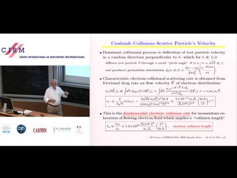James D. Callen: Fluid and transport modeling of plasmas 1: collisional plasma kinetics, solutions