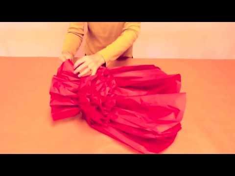 How to Make jumbo Tissue Paper Flowers