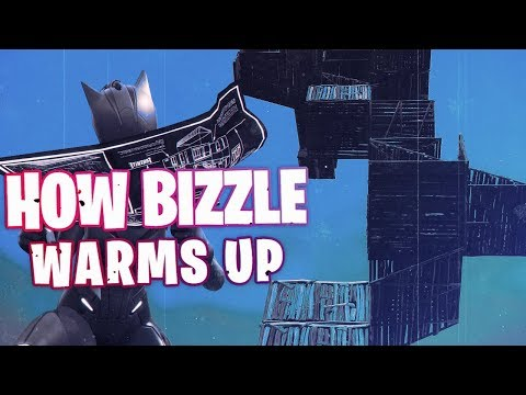 HOW I WARM UP | GHOST BIZZLE | FORTNITE BATTLE ROYALE