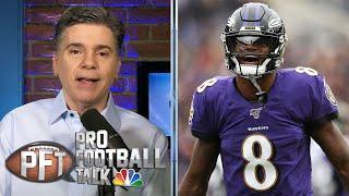 PFT Draft: Lamar Jackson leads list of best players in AFC North | Pro Football Talk | NBC Sports