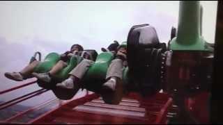 Fuji-Q Eejanaika Rollercoaster in Japan