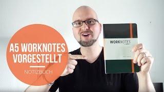 WORKNOTES Notizbuch für Kreative und Macher - Die A5 Version im Detail -