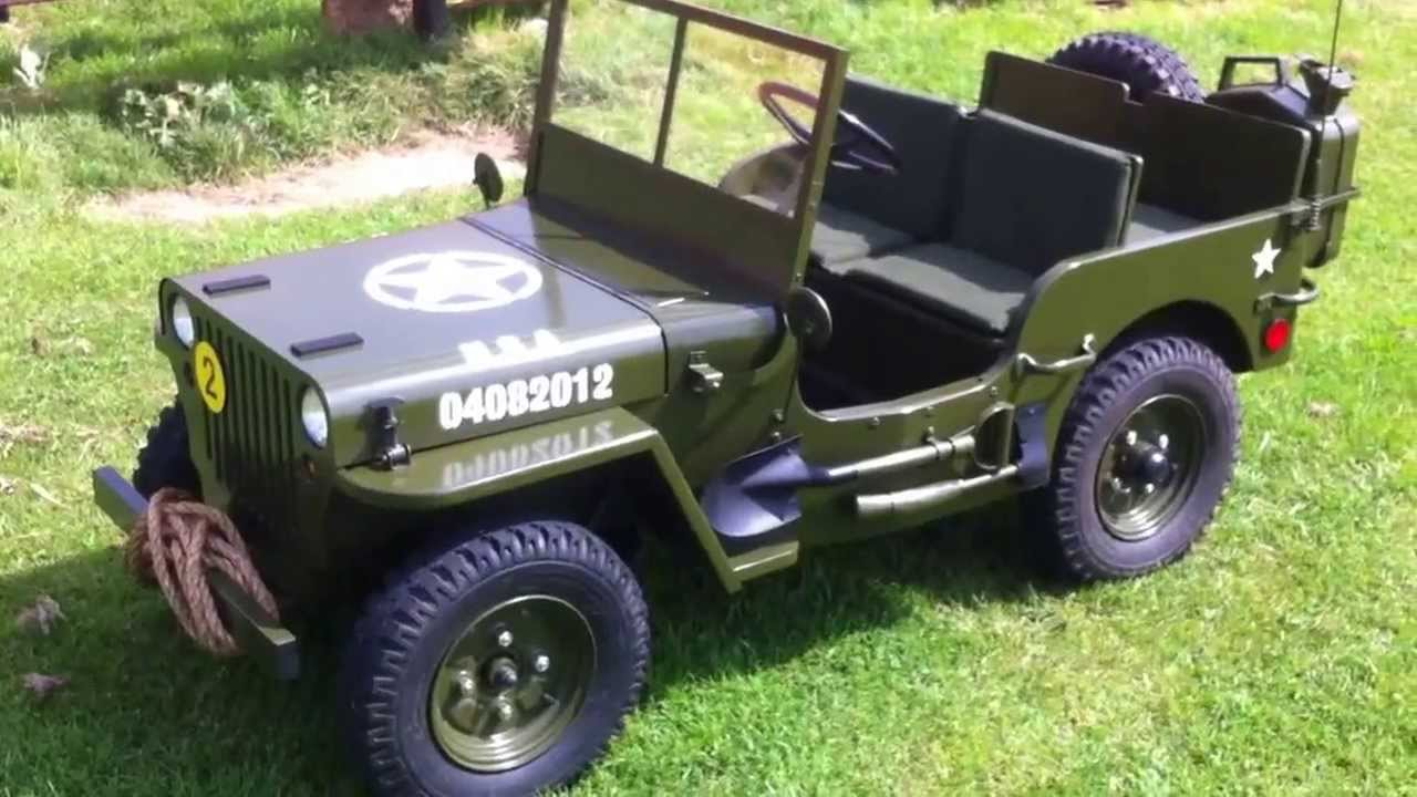 Toylander Willys Jeep Youtube