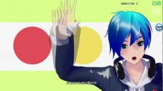 "Kaito ""Two-Faced Lovers""Project Diva Arcade"