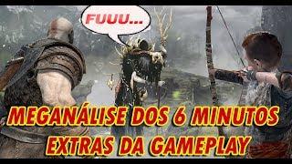 God of War -Super análise de +6 minutos de gameplay liberadas após o embargo