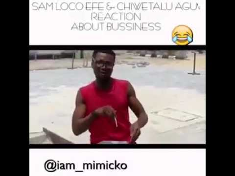 Watch SAM LOCO EFE AND CHIWETALU AGU REACTION ABOUT BUSSINESS IN NIGER