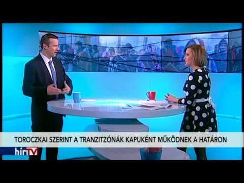 Toroczkai László a Hír Tv Reggeli járat c. műsorában (2018.02.08)