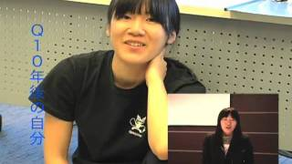 「東京俳優市場2010春」第2話から貴船麻里子さんのインタビューです。