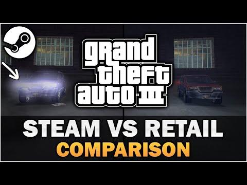 GTA 3 - Steam VS Retail Release [In-depth Comparison]
