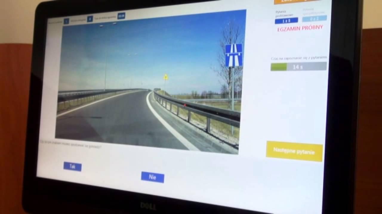 testy na prawo jazdy cena