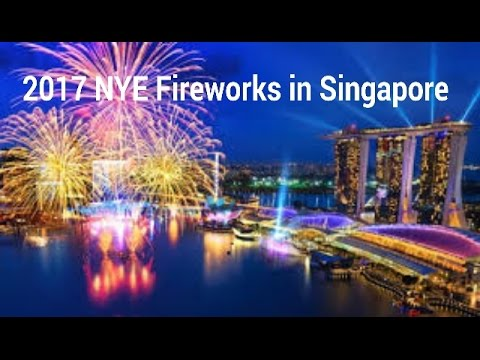 singapore new year fireworks 2017 happy new year 2017 full in hd
