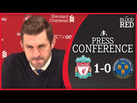Sam Ricketts FULL Post-Match Press Conference | Liverpool 1-0 Shrewsbury Town | FA Cup