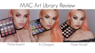 MAC Art Library Collection Review and Tutorial! 💕