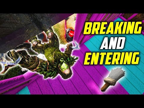 ❗I ALMOST GOT CAUGHT ❗ SNEAKING INTO BASES! Ark: Ragnarok Breaking And Entering Base Tours E1