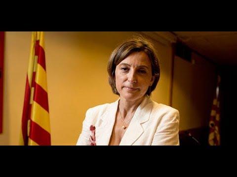 Declaración institucional de la presidenta del Parlament de Cataluña, Carme Forcadell.