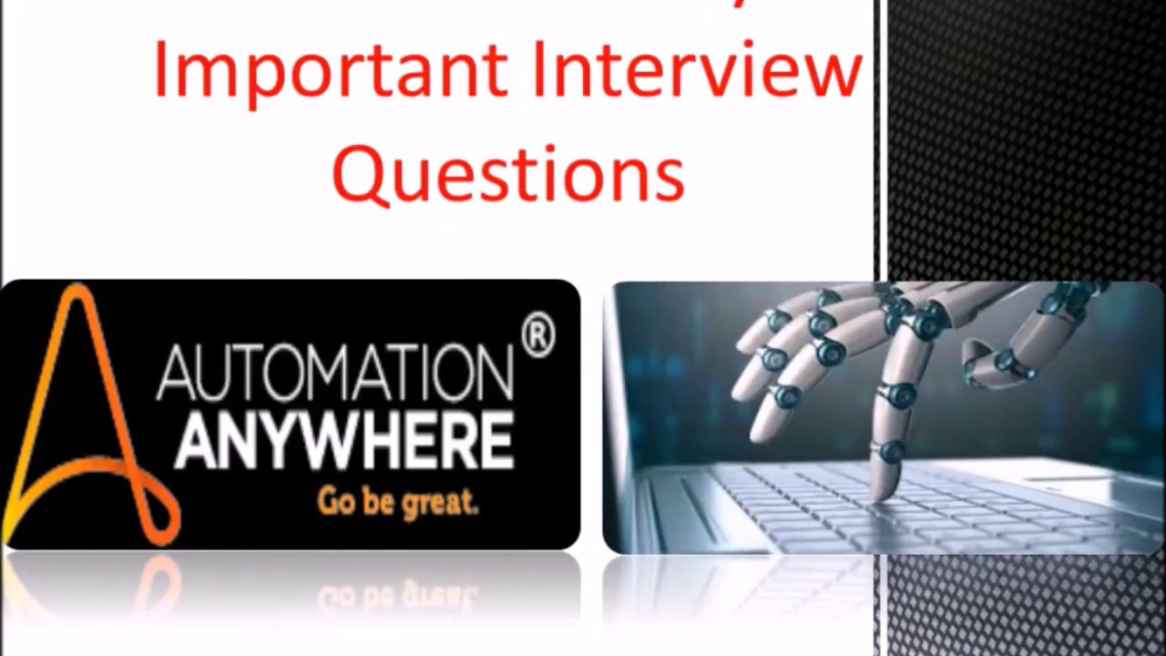 RPA Automation Anywhere Online Test Questions