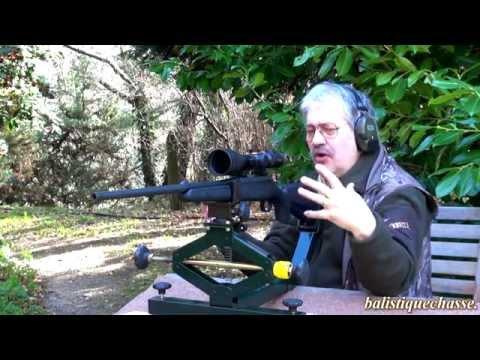 La carabine Bergara calibre 30.06 Springfield