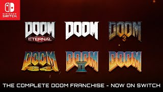 The Complete DOOM Franchise – On Switch