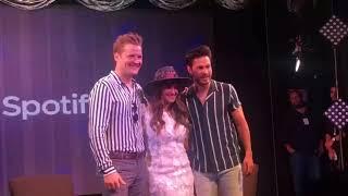 Dulce María na Coletiva de Imprensa do Billboard Latin Music Showcase