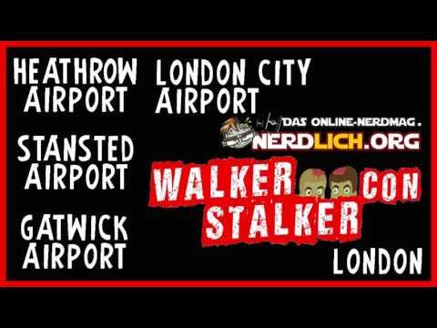 Travel Guide London Airports - Walker Stalker Con London