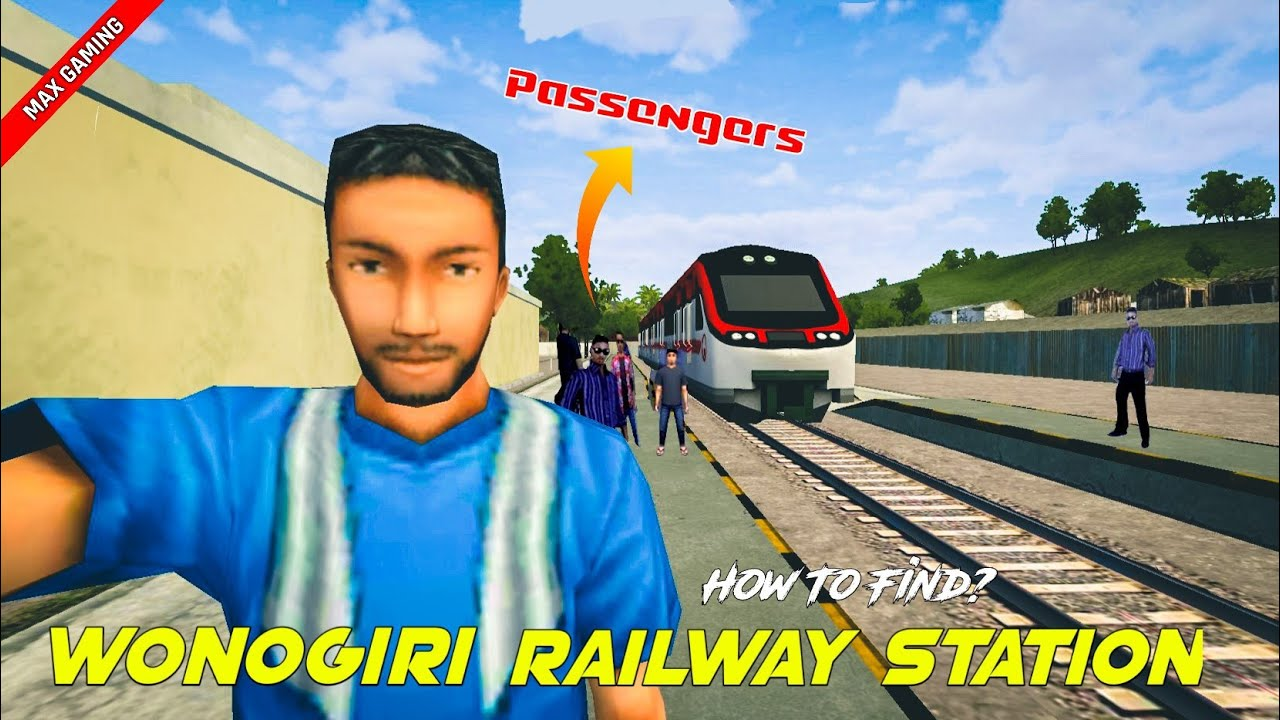 New Railway Station In Wonogiri 🤩