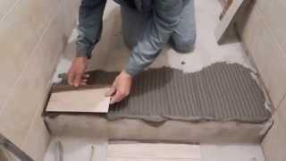 Укладка плитки на пол(В этом видео показан мой собственный,простой,железобетонный способ, укладки керамической плитки.Он не..., 2013-09-29T07:14:31.000Z)
