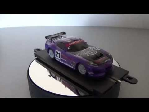Scalextric Review: GT Lightning Purple