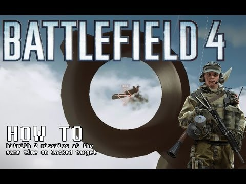 How to use sa-18 igla in Battlefield 4