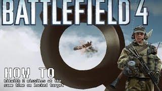 How to use sa-18 igla in Battlefield 4