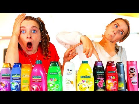 Don't Choose the Wrong Shampoo Slime Challenge!!!