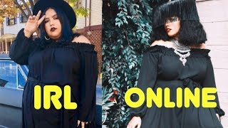 Indie plus-size brand try-on (Zelie For She)