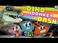 The Amazing World of Gumball: DINO DONKEY DASH [Cartoon Network Games]