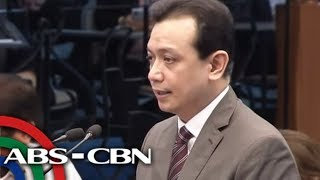 WATCH: Senator Trillanes delivers privilege speech | 2 October 2018