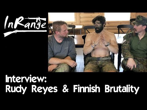 Finnish Brutality 2018: Rudy Reyes Interview