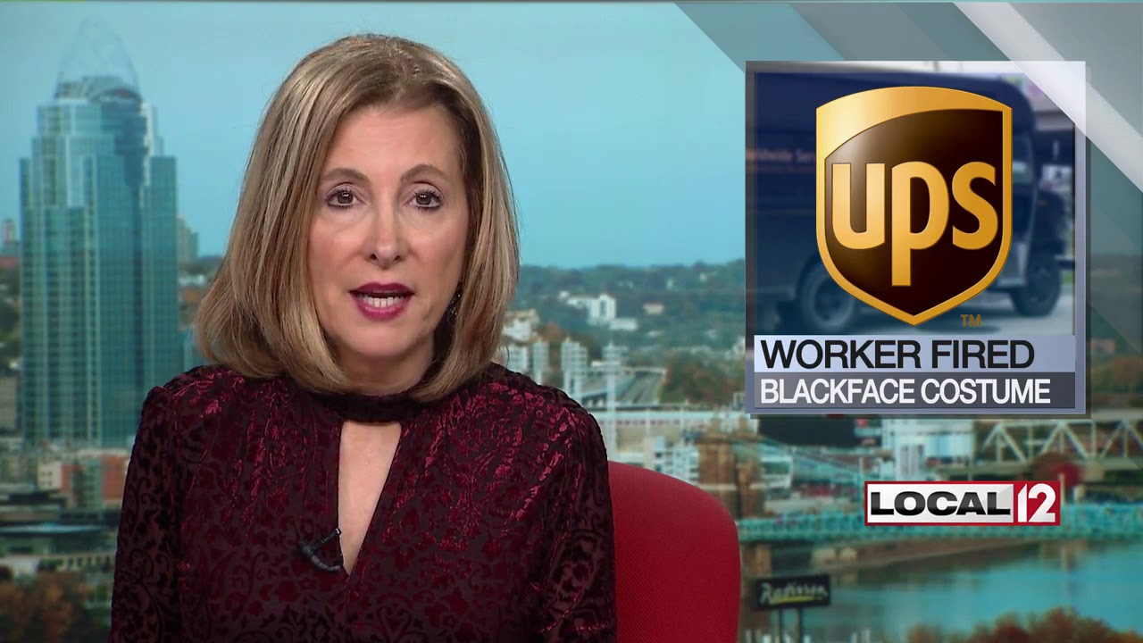 Sharonville UPS worker fired after wearing blackface as part of Halloween costume